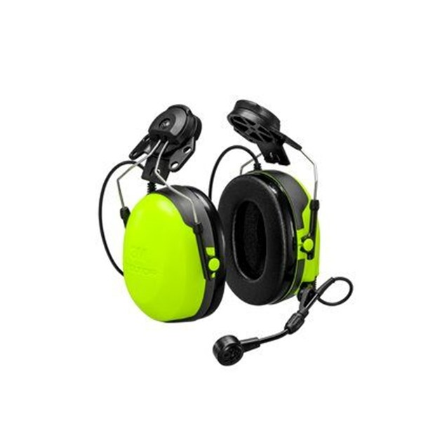 3M™ PELTOR™ Headset CH-3 FLX2 for External PTT, Helmet Attached. (Cable must be ordered separately.)