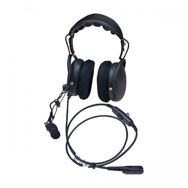 Noise Canceling Over The Head Heavy Duty Headset with PTT